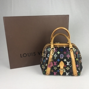 Super Louis Vuitton Monogram Priscilla Multicolor - La Garderobe TA-46