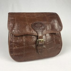 Mulberry Cross Body Croco Bruin