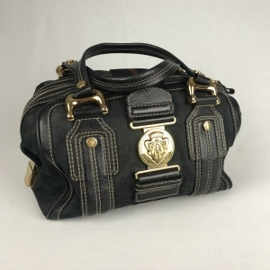 Gucci Aviatrix Boston Zwart