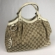 Gucci Sukey Bag Canvas Beige