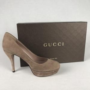 Gucci Kid Scamosciato Taupe 36,5