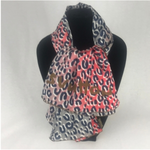 Louis Vuitton Leopard Shawl