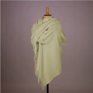 Sjaal Mint Groen Angora Schapenwol