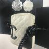 Chanel Ligne Cambon Messenger Bag Wit