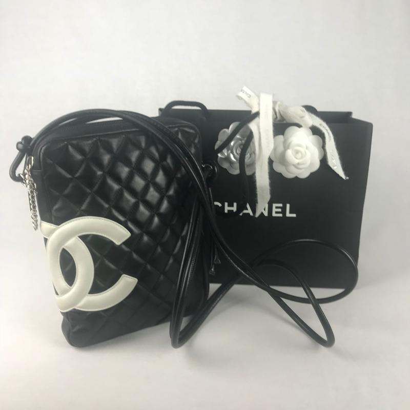 fa73f04762b Chanel Ligne Cambon Messenger Bag - La Garderobe | Second hand