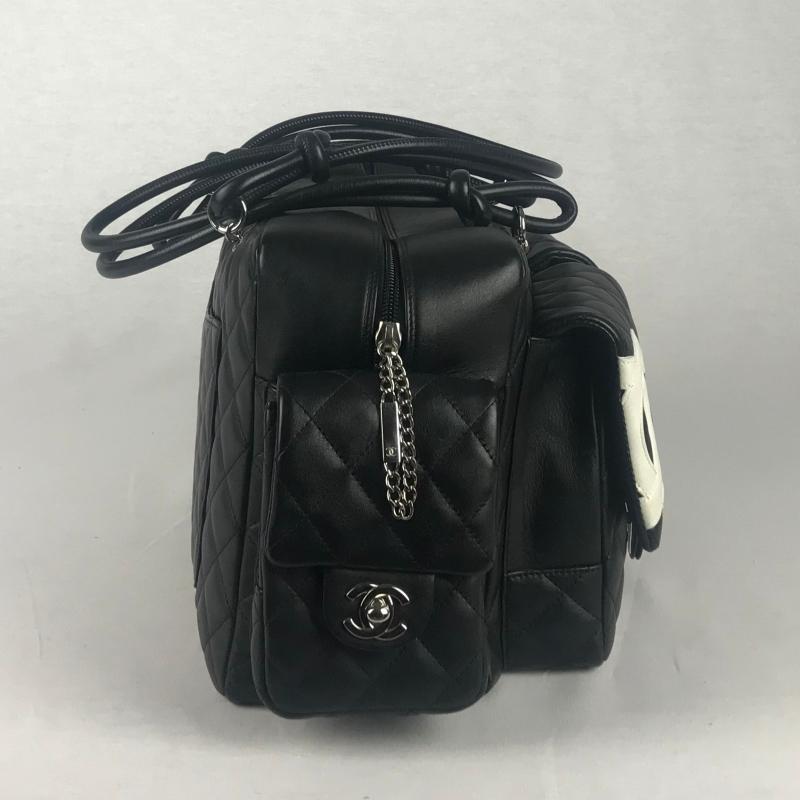 001db73134a Chanel Ligne Cambon Multipocket Reporter Bag - La Garderobe | Second ...