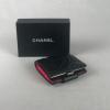 Chanel Portemonaie Zwart