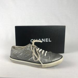 Chanel Sneaker Zilver
