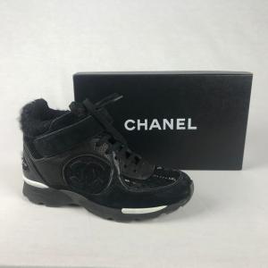 Chanel Sneaker Zwart 36,5
