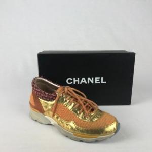 Chanel_Sneakers_Oranje