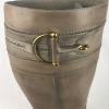 Gucci Horsebit Laarzen Taupe 39