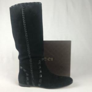 Gucci Suede Laars Zwart