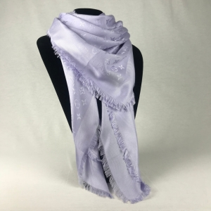 Louis Vuitton Monogram Shawl Lilac